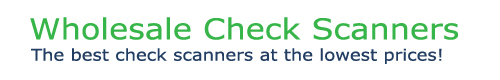 Wholesale Check Scanners